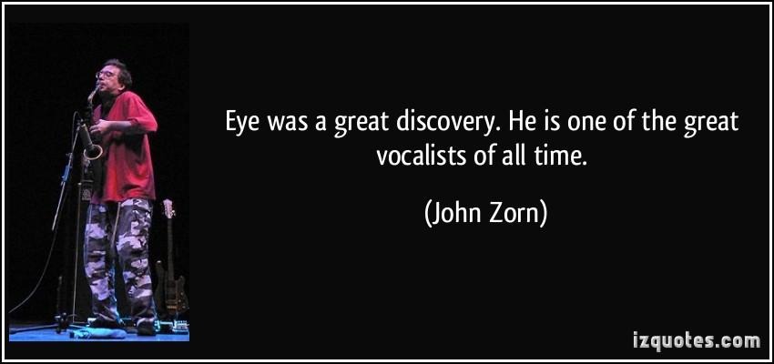 John Zorn's quote #1