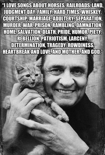 Johnny Cash quote #1