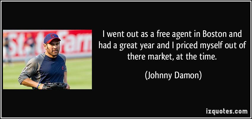 Johnny Damon's quote #8