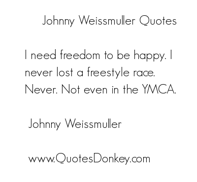 Johnny Weissmuller's quote #5