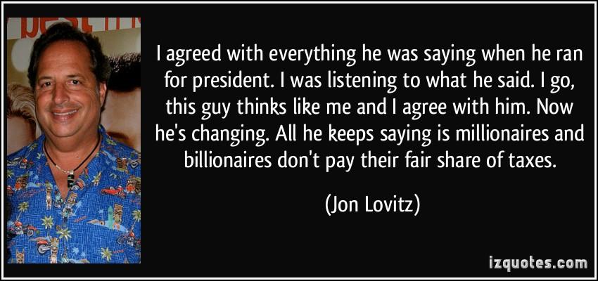 Jon Lovitz's quote #1