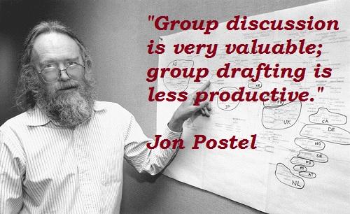 Jon Postel's quote #2
