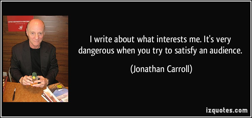 Jonathan Carroll's quote #1