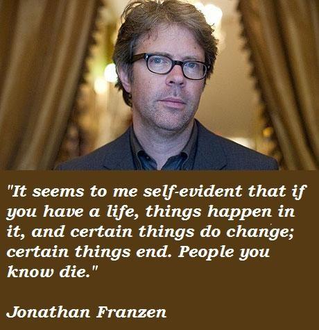 Jonathan Franzen's quote #6