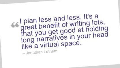 Jonathan Lethem's quote #4