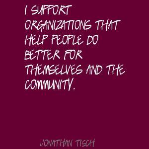 Jonathan Tisch's quote #3
