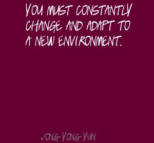 Jong-yong Yun's quote