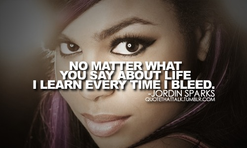 Jordin Sparks's quote #1