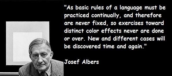 Josef Albers's quote #7