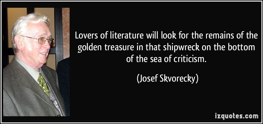 Josef Skvorecky's quote #1