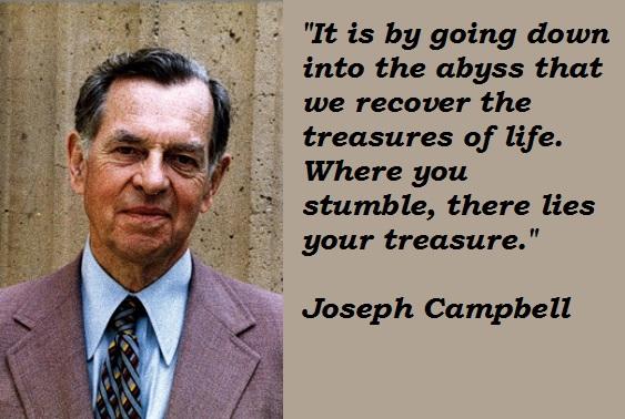 Joseph Campbell's quote #1