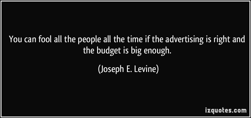 Joseph E. Levine's quote #1