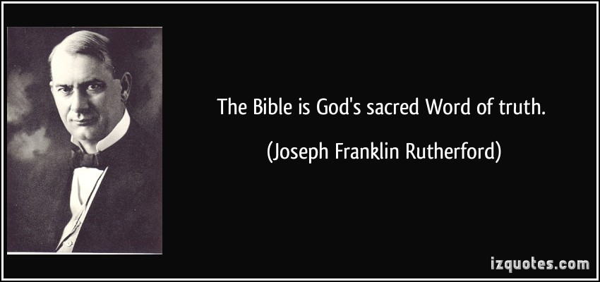 Joseph Franklin Rutherford's quote #2