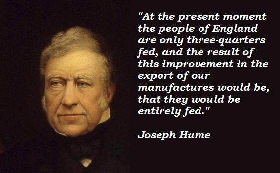 Joseph Hume's quote #6