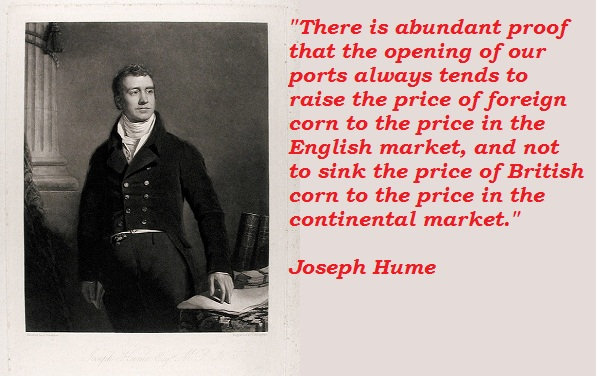 Joseph Hume's quote #2