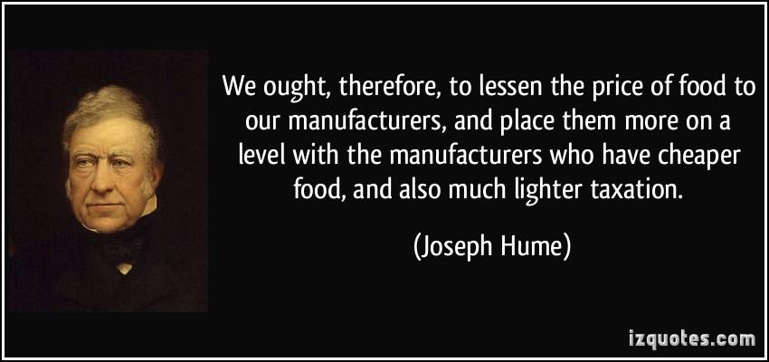 Joseph Hume's quote #7