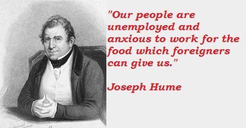 Joseph Hume's quote #3