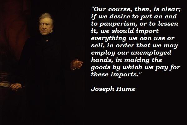 Joseph Hume's quote #5