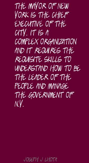 Joseph J. Lhota's quote #5