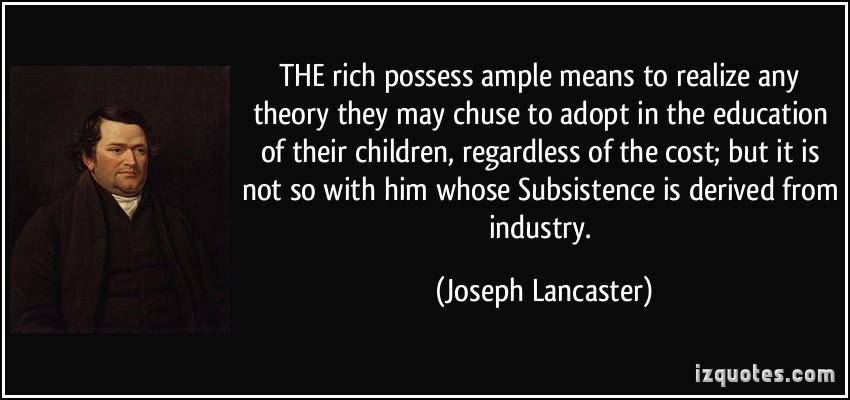 Joseph Lancaster's quote #8