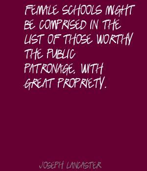 Joseph Lancaster's quote #7