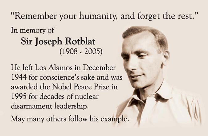 Joseph Rotblat's quote #3