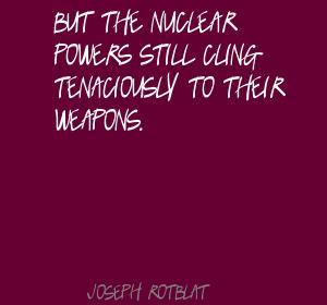Joseph Rotblat's quote #7