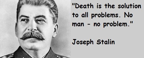 Joseph Stalin's quote #5