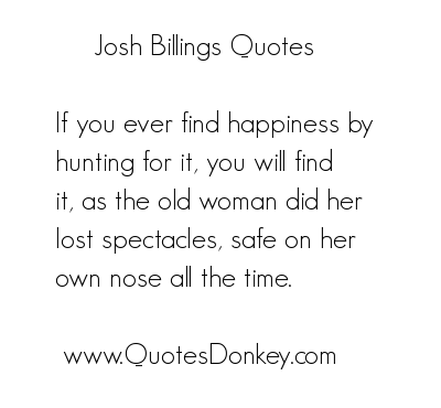 Josh Billings's quote #7