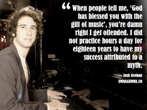 Josh Groban's quote #4