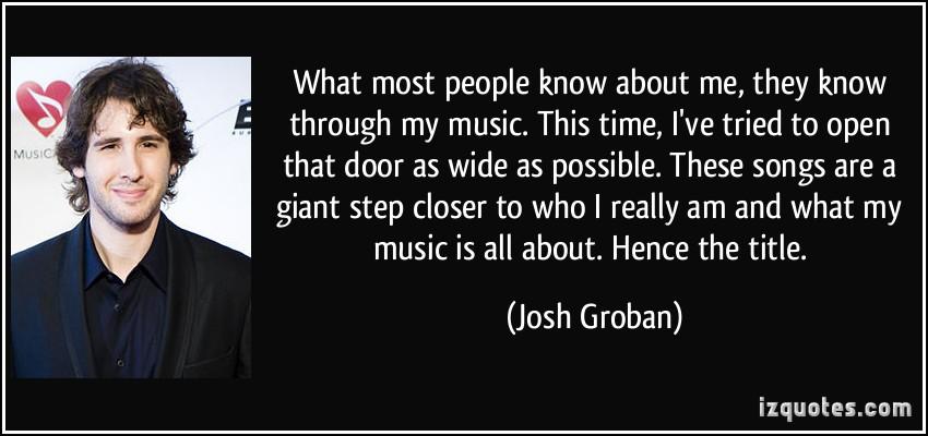 Josh Groban's quote #1