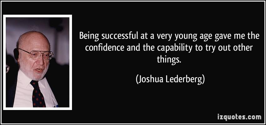 Joshua Lederberg's quote #3