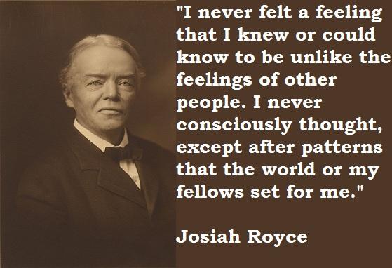 Josiah Royce's quote #1