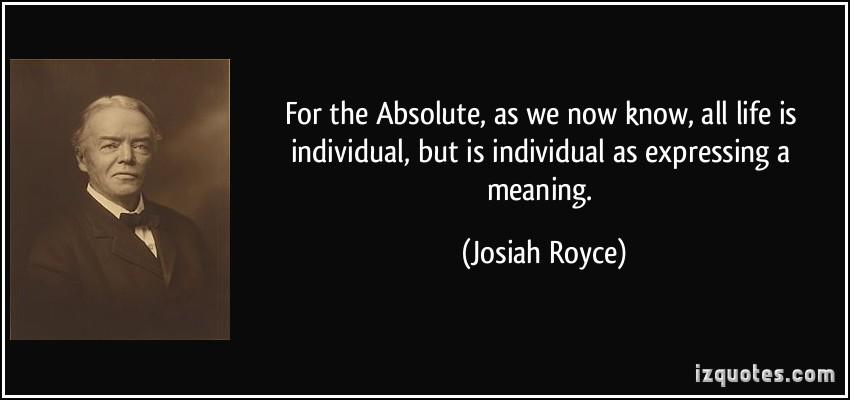 Josiah Royce's quote #2