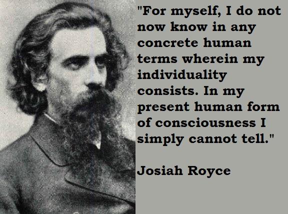 Josiah Royce's quote #4