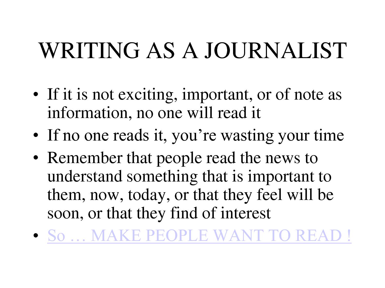 Journalism quote #2