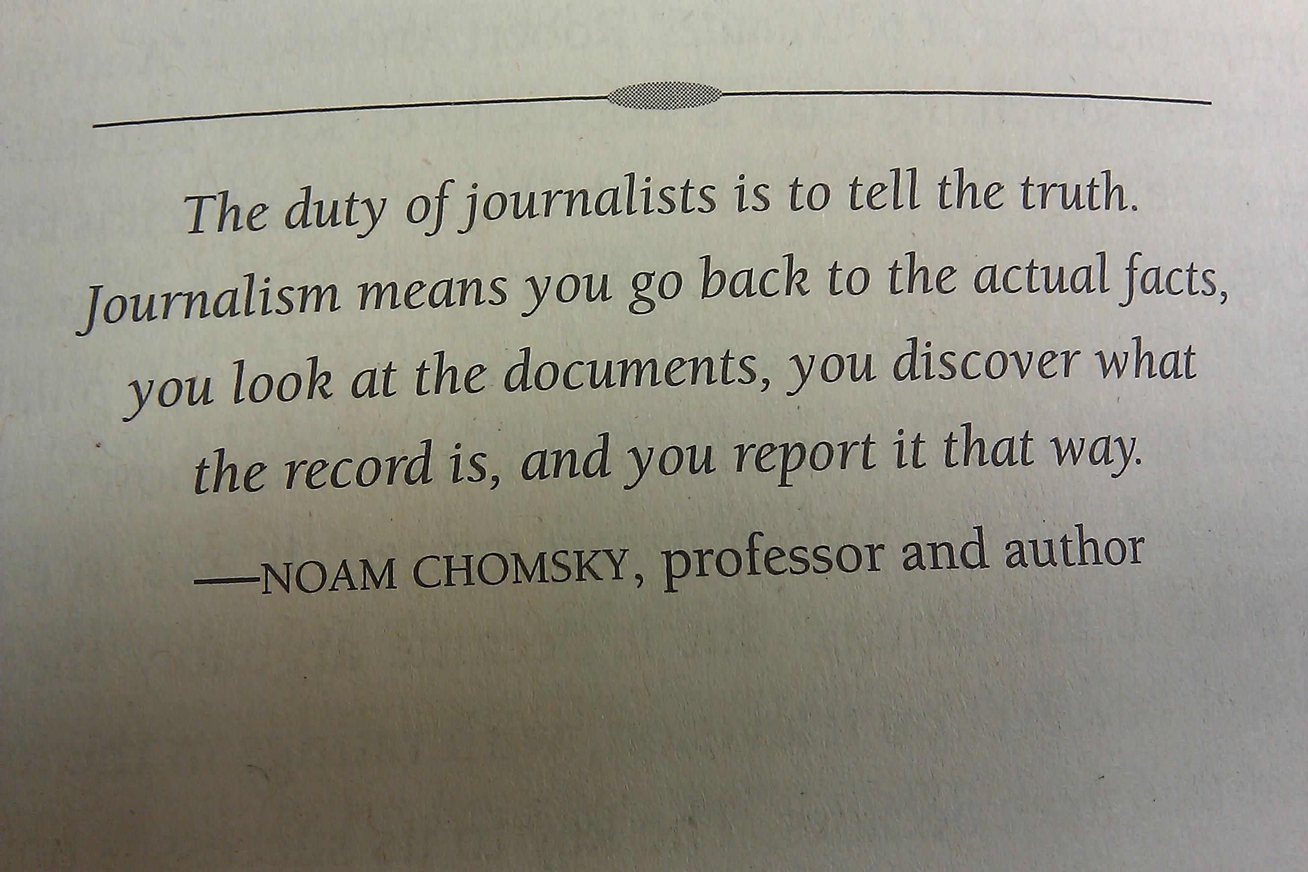 Journalism quote #4