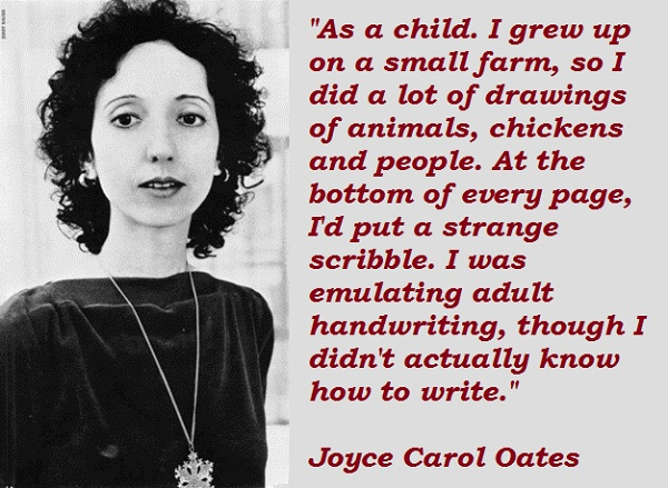 Joyce Carol Oates's quote #4