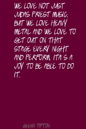Judas Priest quote #1