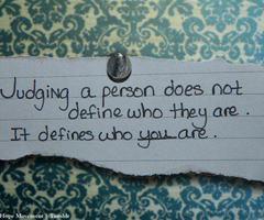Judging quote #1