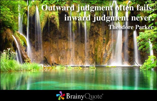 Judgment quote #2