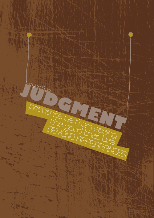 Judgment quote #3
