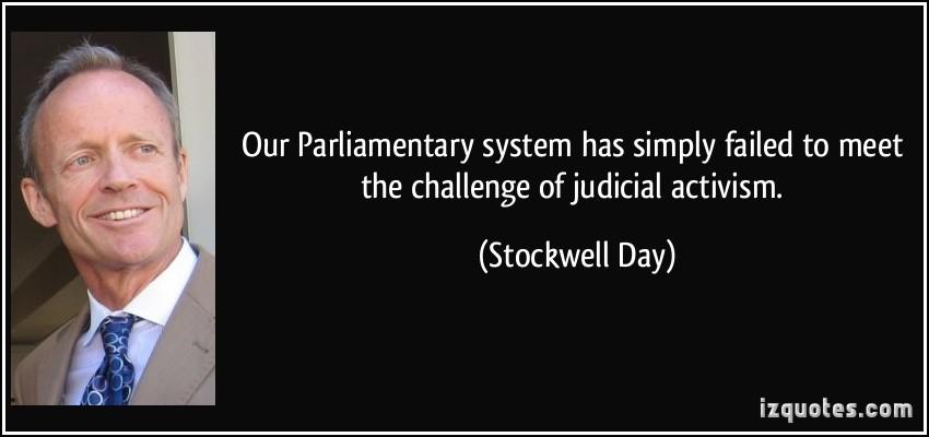 Judicial Activism quote #1
