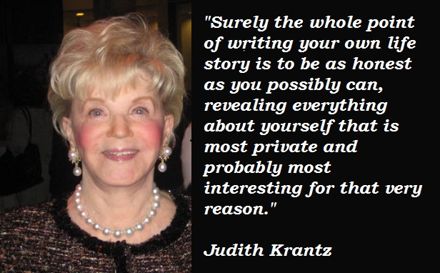 Judith Krantz's quote #2
