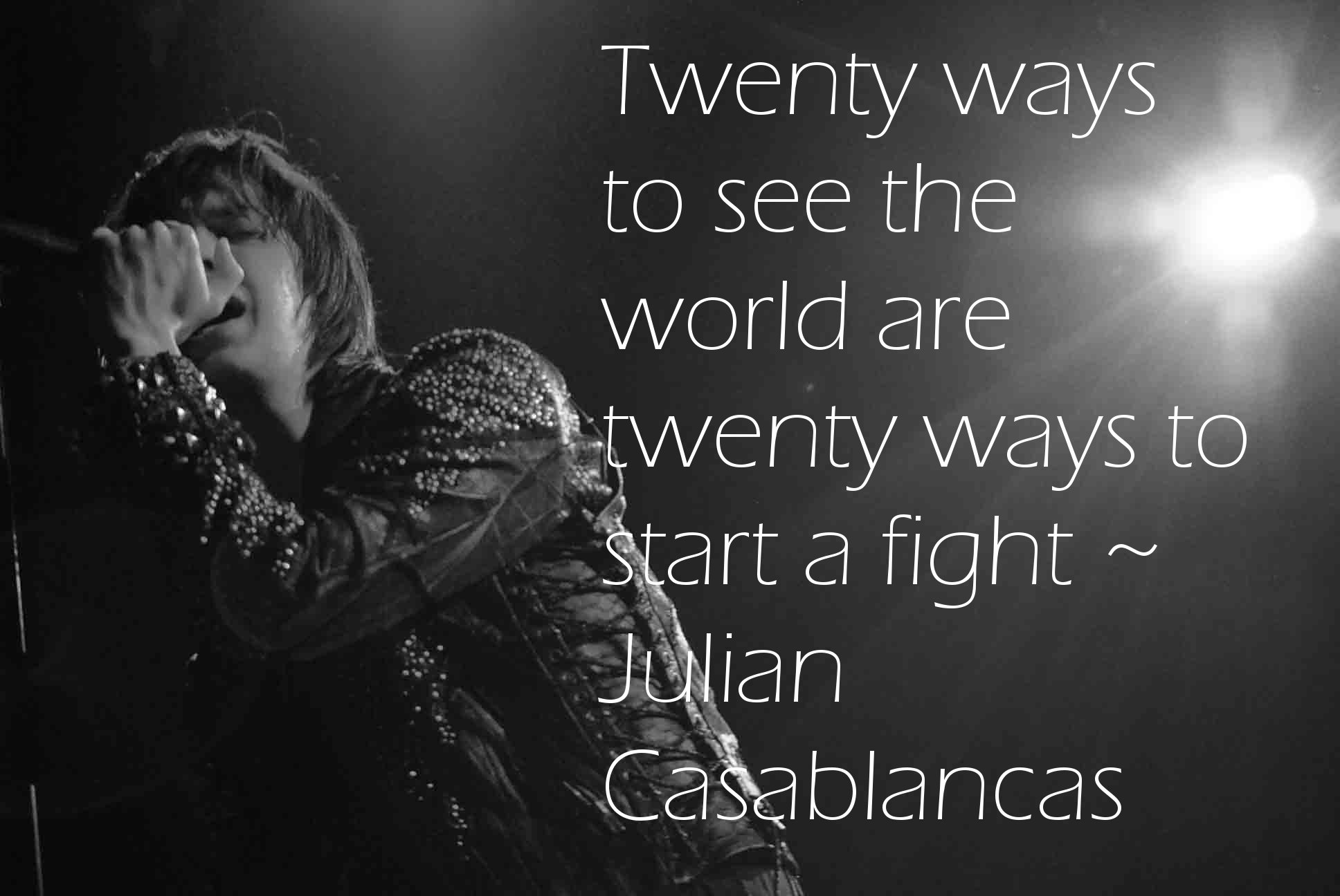 Julian Casablancas's quote #4