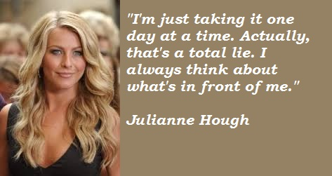 Julianne Hough's quote #2