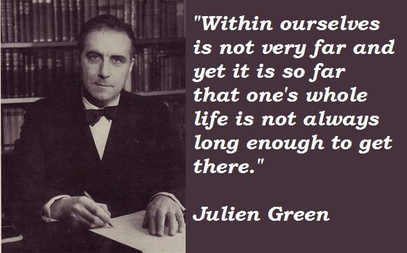 Julien Green's quote #2