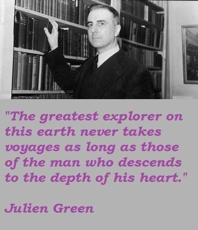 Julien Green's quote #7