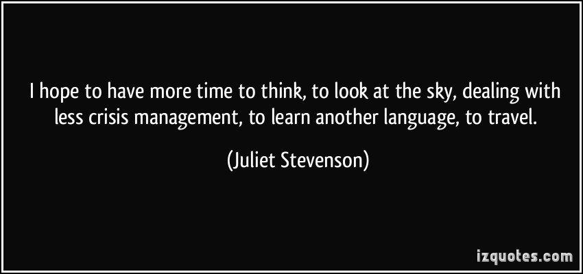 Juliet Stevenson's quote #1