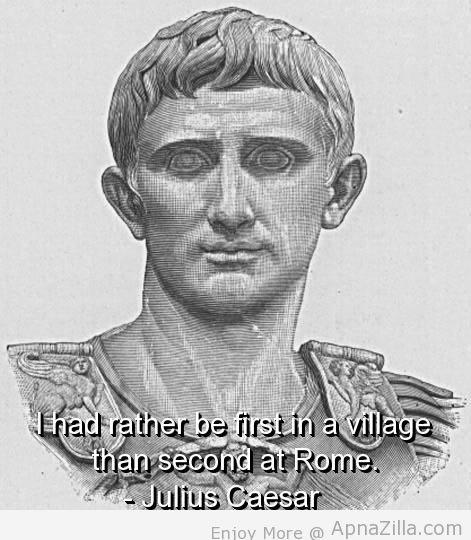 Julius quote #2
